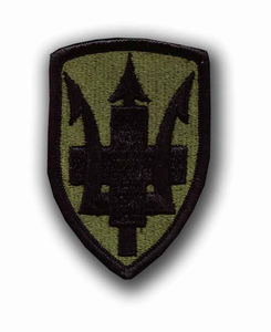 213th Medical Brigade Subdued Military Patch