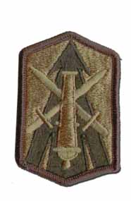 214th Field Artillery Brigade Subdued Military Patch