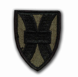 21st Support Brigade Subdued Military Patch