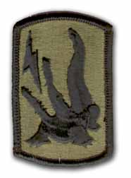 227th Field Artillery Brigade Subdued Military Patch