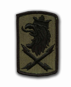 22nd Signal Brigade Subdued Military Patch