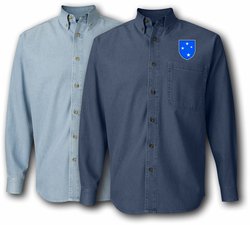 23rd Infantry Americal Division Denim Shirt