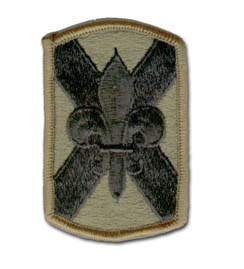 256th Infantry Brigade Subdued Military Patch