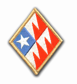 261st Signal Brigade Military Patch