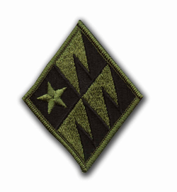 261st Signal Brigade Subdued Military Patch