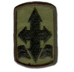 29th Infantry Brigade Subdued Military Patch