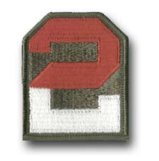2nd Army Military Patch