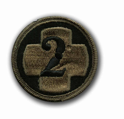 2nd Medical Brigade Subdued Military Patch