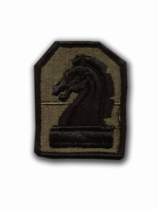2nd Military Intelligence Command Subdued Military Patch