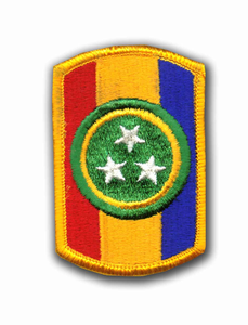 30th Armored Brigade Military Patch