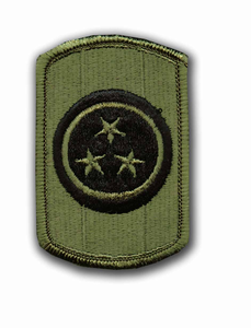 30th Armored Brigade Subdued Military Patch