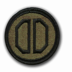 31st Armored Brigade Subdued Military Patch