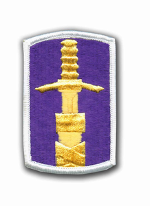 321st Civil Affairs Command Military Patch