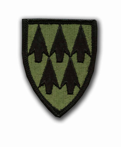 32nd Air Defense Command Subdued Military Patch