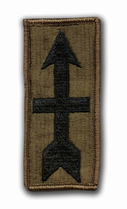 32nd Infantry Brigade Subdued Military Patch