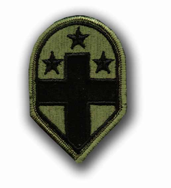 32nd Medical Brigade Subdued Military Patch