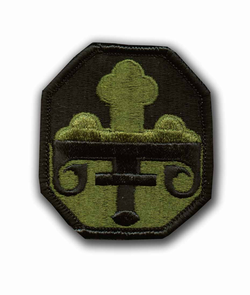 352nd Civil Affairs Brigade Subdued Military Patch