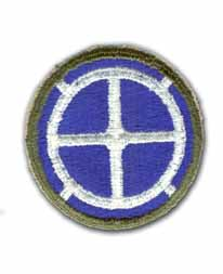 35th Infantry Brigade (Diecut) Military Patch