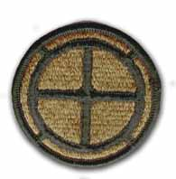 35th Infantry Brigade Subdued Military Patch