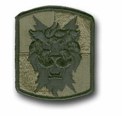 35th Signal Brigade Corps Airborne Subdued Military Patch