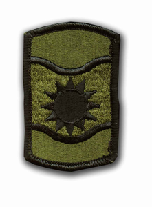 361st Civil Affairs Brigade Subdued Military Patch
