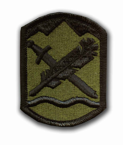 365th Civil Affairs Brigade Subdued Military Patch