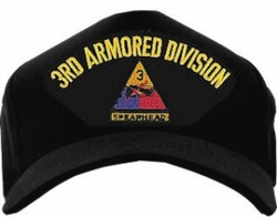 3rd Armored Division Ball Cap Hat