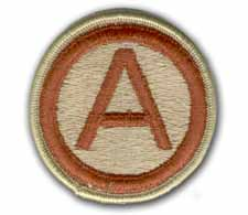 3rd Army Desert Military Patch