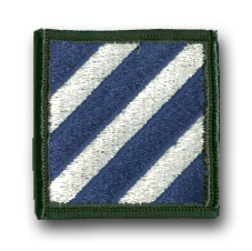3rd Army Infantry Division Military Patch