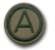 3rd Army Subdued Military Patch