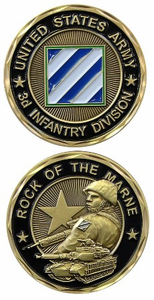 3rd Infantry Challenge Coin