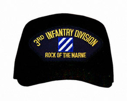 """3rd Infantry Division """"Rock Of The Marne"""" Ball Cap"""