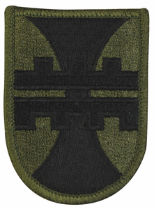 412th Engineering Construction Command 2.75 Inch Subdued Patch