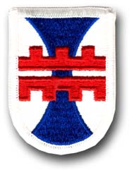412th Engineering Construction Command Military Patch