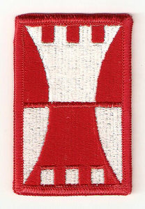 416th Engineering Command Subdued Military Patch