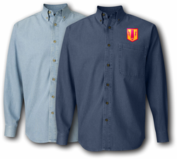 41st Field Artillery Brigade Denim Shirt