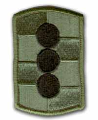 434th Field Artillery Brigade Subdued Military Patch