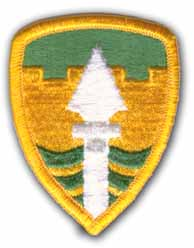 43rd Military Police Brigade Patch