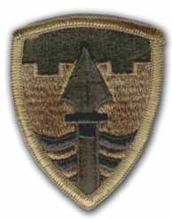 43rd Military Police Brigade Subdued Patch