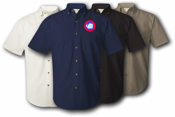 47th Infantry Division Twill Button Down Shirt