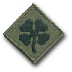 4th Army Subdued Military Patch