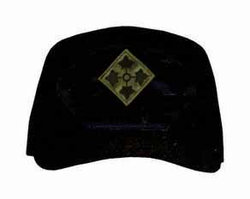 4th Infantry Division Subdued, Custom Embroidered Ball Cap