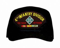 4th Infantry Division / Vietnam Veteran Ball Cap
