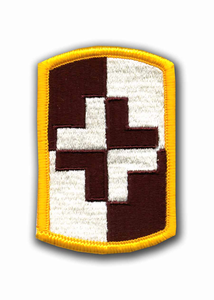 4th Medical Brigade Military Patch
