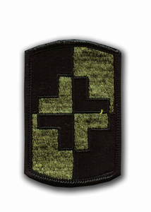 4th Medical Brigade Subdued Military Patch