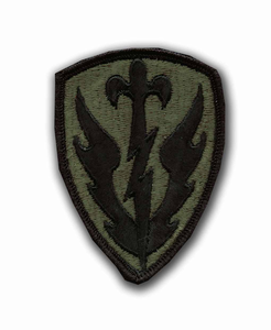 504th Military Intelligence Brigade Subdued Patch