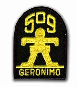 509th A/B Infantry Military Patch