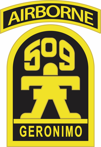 509th Geronimo Airborne Decal