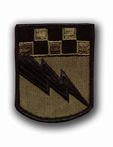 525th Military Intelligence Brigade Subdued Military Patch