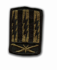 53rd Signal Brigade Subdued Military Patch